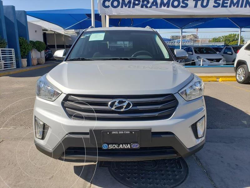 Hyundai Creta GLS Aut usado (2018) color Plata precio $250,000