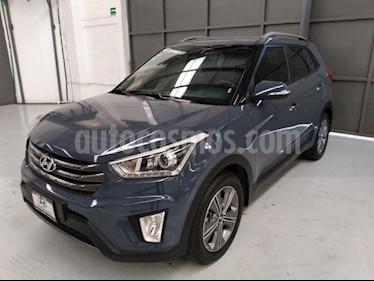 Hyundai Creta 4P GLS PREMIUM L4/1.6 AUT usado (2018) color Azul precio $285,000