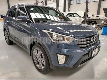 Hyundai Creta 5P GLS PREMIUM 1.6L TA F. LED RA-17 usado (2018) color Azul precio $269,000