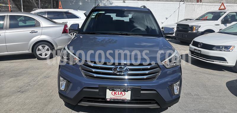 Hyundai Creta Limited Aut usado (2017) color Azul precio $250,000