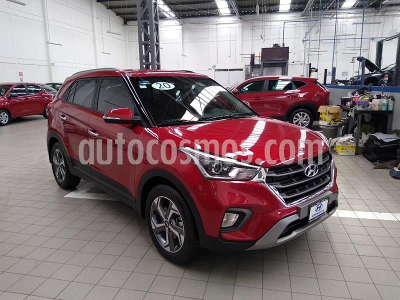 Hyundai Creta GLS Premium Aut usado (2020) color Rojo precio $330,000