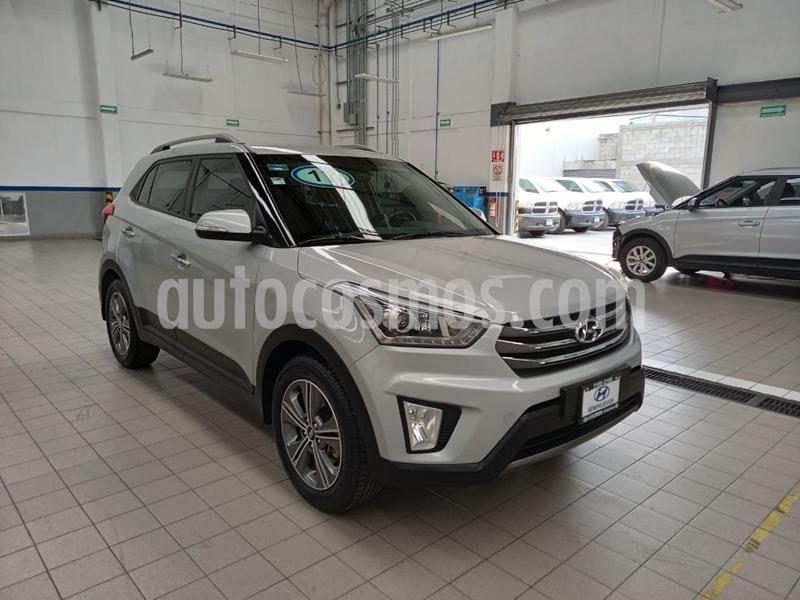Hyundai Creta GLS Premium Aut usado (2017) color Plata Dorado precio $260,000