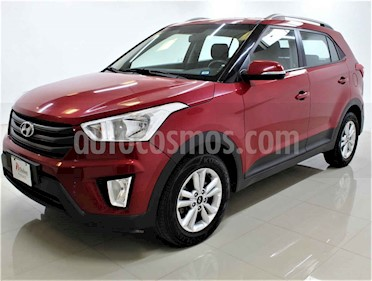 Hyundai Creta 4p GLS L4/1.6 Aut usado (2018) color Rojo precio $219,000