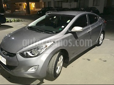Hyundai Elantra 1.6 GLS Plus Aut   usado (2012) color Gris precio $6.980.000