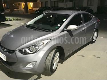 Hyundai Elantra 1.6 GLS Plus Aut   usado (2012) color Gris precio $6.380.000