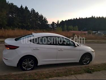 Hyundai Elantra 1.6 GLS  usado (2018) color Blanco precio $9.600.000