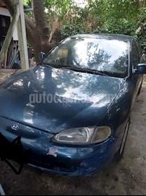 Foto venta Auto usado Hyundai Elantra 1.8 GLS 4P  (1997) color Azul precio $65.000