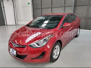 Foto Hyundai Elantra 4p GLS L4/1.8 Aut usado (2016) color Rojo precio $185,000