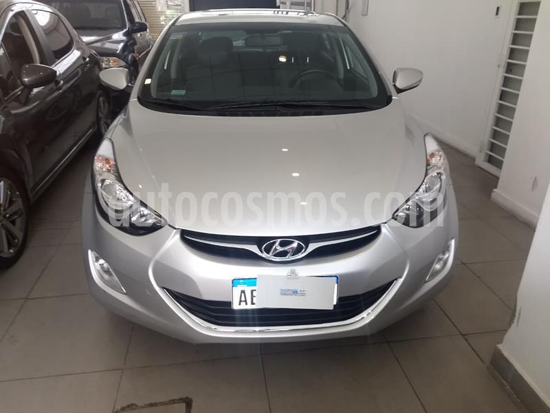 Hyundai Elantra 1.8 GLS 4P Full usado (2014) color Gris precio $1.180.000