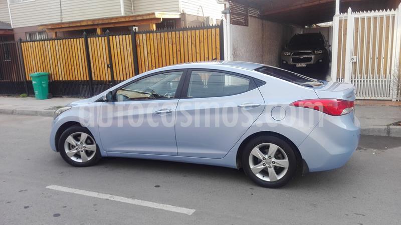 Hyundai Elantra GLS 1.6 Aut Full   usado (2013) color Celeste precio $6.100.000