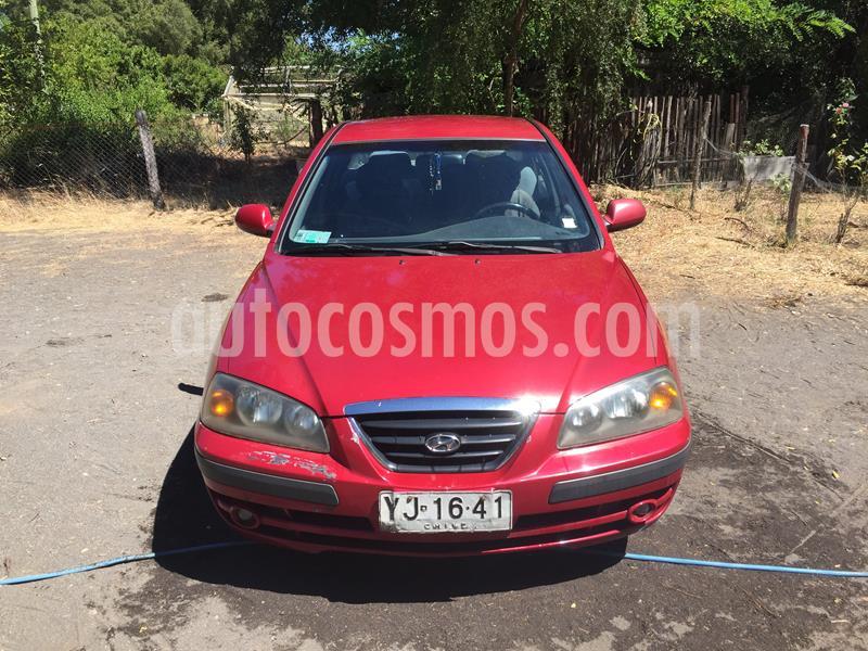Hyundai Elantra 1.6 GLS  usado (2005) color Rojo precio $3.150.000
