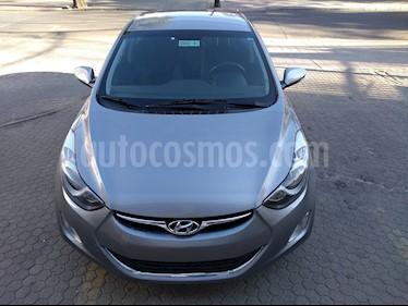 Hyundai Elantra GLS 1.6 Aut Full   usado (2012) color Gris precio $6.000.000