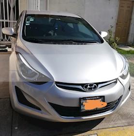Hyundai Elantra GLS Aut usado (2016) color Plata precio $165,000