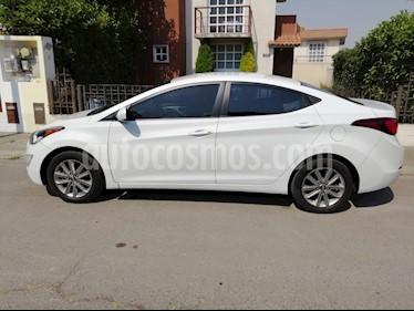 Hyundai Elantra GLS Premium Aut usado (2015) color Blanco precio $148,000