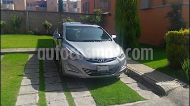 Hyundai Elantra Limited Tech Navi Aut usado (2016) color Gris precio $210,000