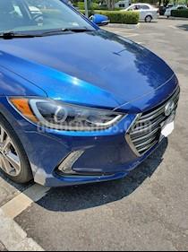 Hyundai Elantra Limited Tech Navi Aut usado (2017) color Azul precio $245,000