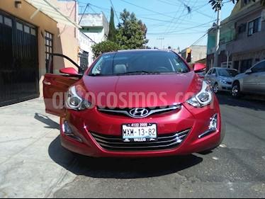 Hyundai Elantra Limited Tech Navi Aut usado (2016) color Rojo precio $220,000