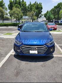 Hyundai Elantra Limited Tech Navi Aut usado (2017) color Azul precio $258,000