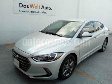 Hyundai Elantra 4p GLS Premium L4/2.0 Aut usado (2018) color Plata precio $245,000