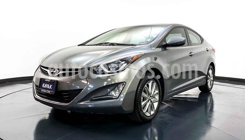 Hyundai Elantra GLS Premium Aut usado (2015) color Gris precio $179,999