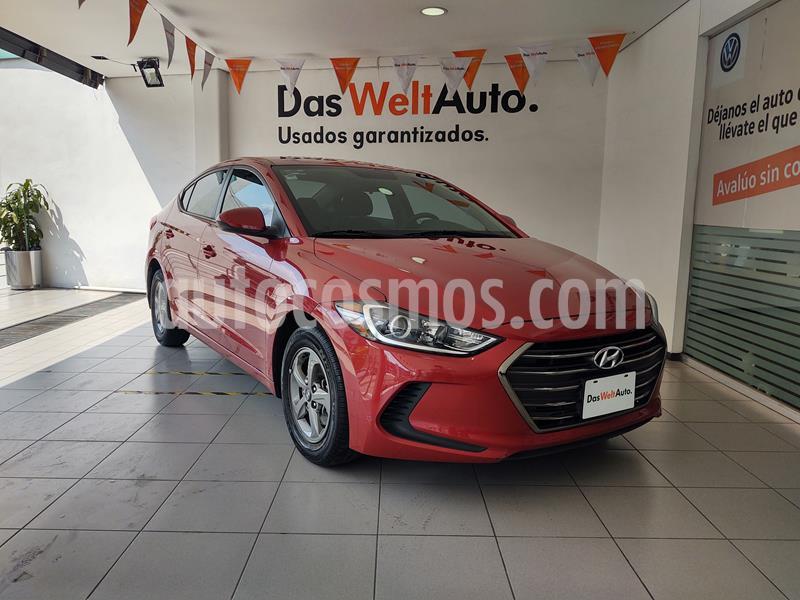 Hyundai Elantra GLS Aut usado (2018) color Rojo precio $229,000