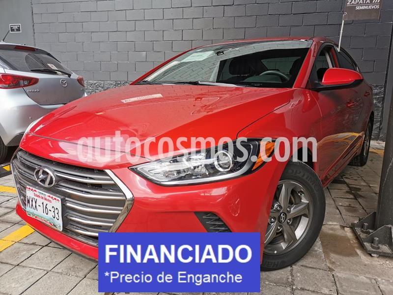 Hyundai Elantra GLS Aut usado (2017) color Rojo precio $44,000