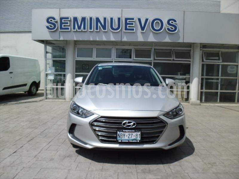 Hyundai Elantra GLS usado (2018) color Plata precio $210,000