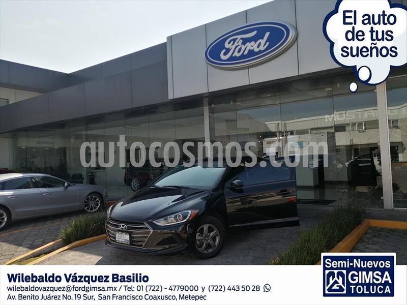 Hyundai Elantra GLS Aut usado (2018) color Negro precio $209,000