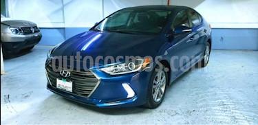 Hyundai Elantra 4p GLS Premium L4/2.0 Aut usado (2018) color Gris precio $250,000
