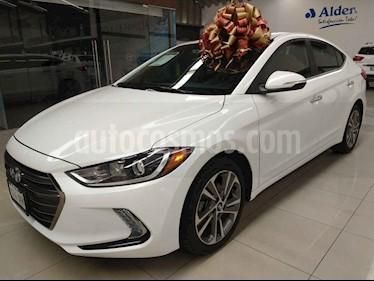 Hyundai Elantra 4p Limited Tech Navi L4/2.0 Aut usado (2017) color Blanco precio $245,000