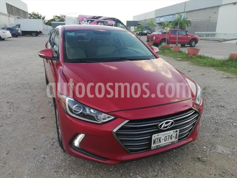 Foto Hyundai Elantra GLS Premium Aut usado (2018) color Rojo precio $214,500
