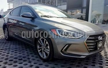 Hyundai Elantra GLS Aut usado (2018) color Gris precio $220,000