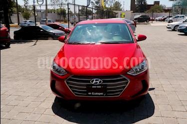 Hyundai Elantra GLS Aut usado (2017) color Rojo precio $220,000