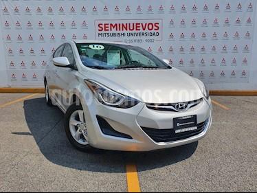 Hyundai Elantra GLS Aut usado (2016) color Plata precio $170,000