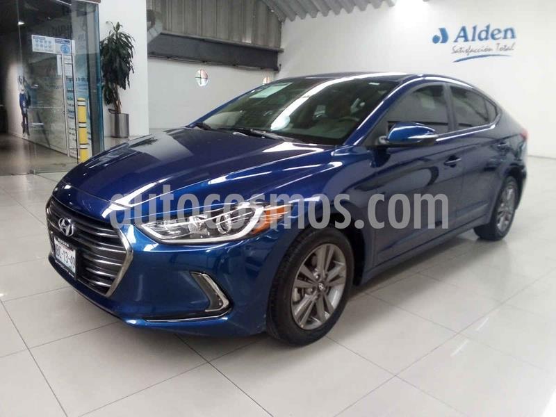 Hyundai Elantra GLS Premium Aut usado (2017) color Azul precio $218,000