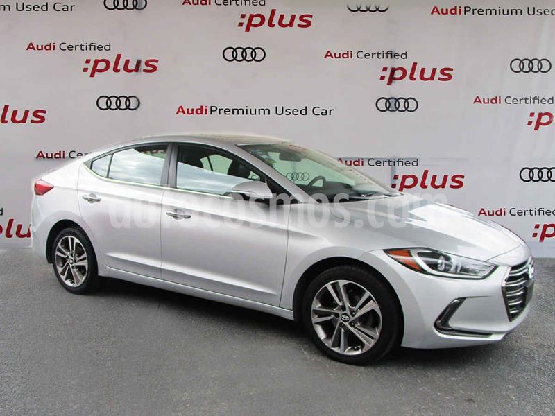 Hyundai Elantra Limited Tech Navi Aut usado (2017) color Plata precio $225,000