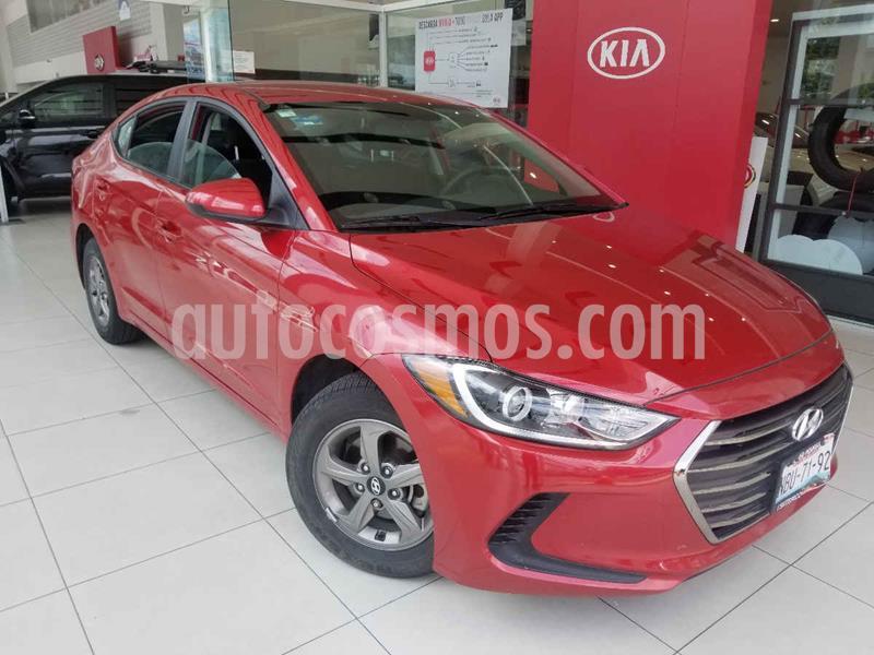 Hyundai Elantra GLS Premium Aut usado (2017) color Rojo precio $185,000