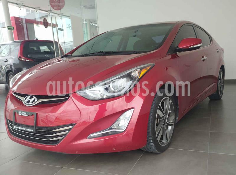 Hyundai Elantra Limited Tech Navi Aut usado (2016) color Rojo precio $210,000