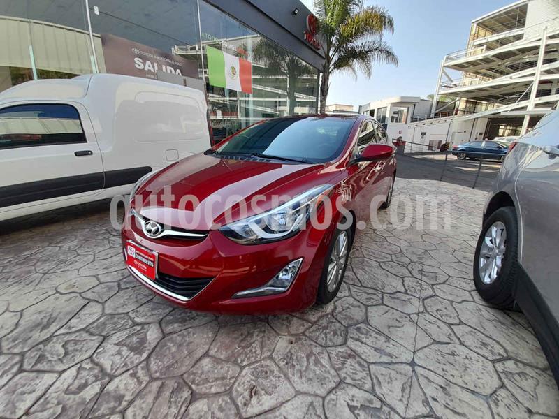 Hyundai Elantra GLS Premium usado (2015) color Rojo precio $168,000