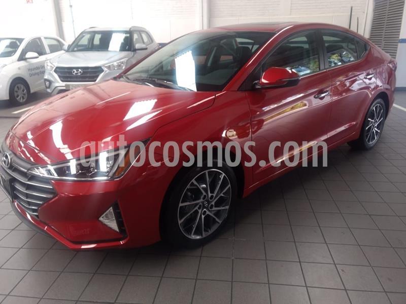 Hyundai Elantra Limited Tech Navi Aut usado (2020) color Rojo precio $415,400