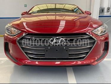 Hyundai Elantra GLS usado (2017) color Rojo precio $195,000