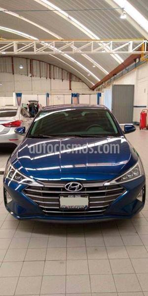 Hyundai Elantra Limited Tech Navi Aut usado (2019) color Azul precio $349,000