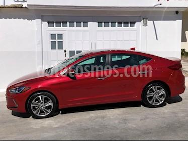 Hyundai Elantra Limited Tech Navi Aut usado (2018) color Rojo Vino precio $282,000