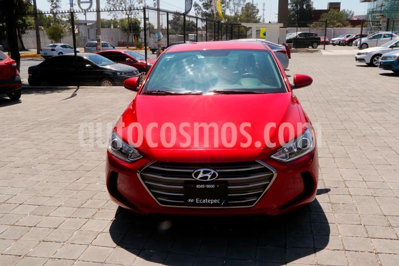 Hyundai Elantra GLS Aut usado (2017) color Rojo precio $194,500