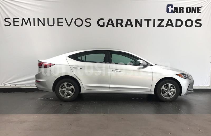 Hyundai Elantra GLS Aut usado (2018) color Plata precio $234,900
