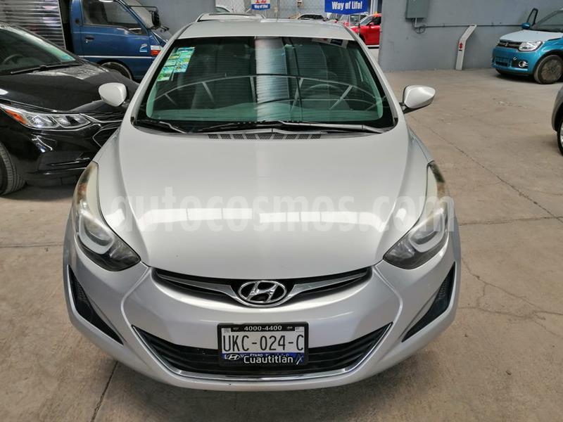 Hyundai Elantra GLS Aut usado (2015) color Plata precio $155,000