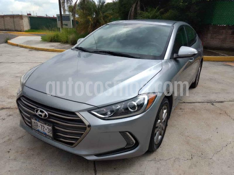 Hyundai Elantra GLS Premium Aut usado (2017) color Gris precio $197,000
