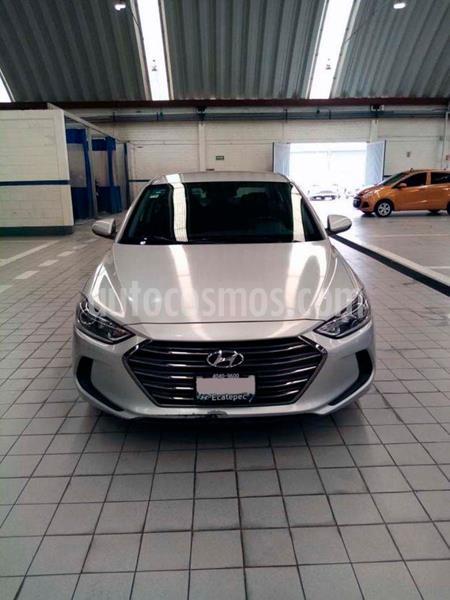 Hyundai Elantra GLS Aut usado (2017) color Plata Dorado precio $194,500