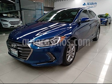Hyundai Elantra GLS Premium Aut usado (2017) color Azul precio $227,000