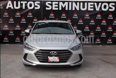 Hyundai Elantra GLS Aut usado (2017) color Plata precio $218,000